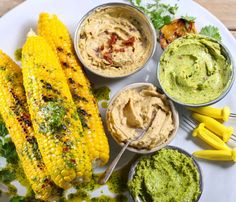 LeaderBrand Sweetcorn with Flavoured Butters