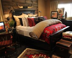 Bedroom Mountain Home Bedrooms Design, Pictures, Remodel, Decor and Ideas