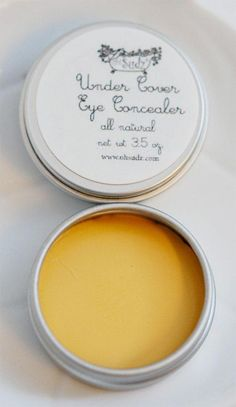 Under Eye Dark Circle Concealer  All Natural Now with by OhSudz, $7.95 #BumpsUnderEyes Dark Circles Makeup, Concealer For Dark Circles, Dark Circles Under Eyes, Under Eye Concealer, Bumps Under Eyes, Brown Spots On Hands, Dark Spots, Vaseline Beauty Tips, Beauty Hacks For Teens