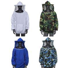 耐久性養蜂ジャケットベールスモック機器用品養蜂帽子スリーブスーツ高品質綿