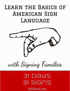 Learn the basics of #ASL American Sign Language with @louisesattler @louiseASL #teachsignlanguagetokids