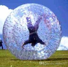 Hot selling 1.2m TPU Inflatable Body Zorb Ball,Bumper Ball