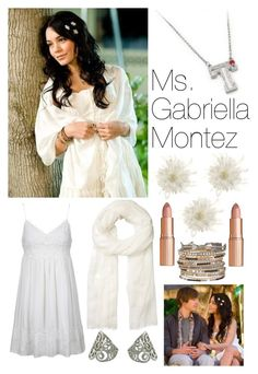"""""""Gabriella Montez"""" by beachstyle123 ❤ liked on Polyvore featuring moda, Tasha, Topshop, Charlotte Tilbury, maurices, NOVICA, Witchery e HighSchoolMusical123"""