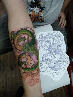 Shenlong by William Borges at Black Tree Ink in São Paulo Brazil Forearm Tattoo Quotes, Z Tattoo, Cover Tattoo, Body Art Tattoos, Deadpool Tattoo, Dragon Sleeve Tattoos, Best Sleeve Tattoos, Angel Tattoo Designs, Tattoo Designs Men