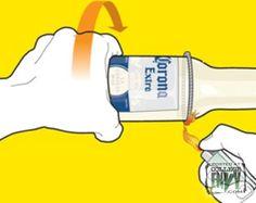 In nur 2 Minuten kann man aus jeder Flasche ein Glas machen. Diese 5 Schritte sind kinderleicht.