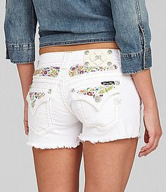 Miss Me Embroidered Shorts