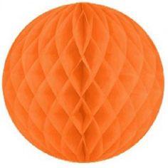 KidsPartyKitchen - Honeycomb tissue puffs - Orange