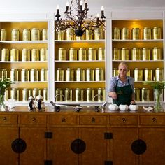 The World's Best Tea Shops: Perch's Tea Room; Copenhagen
