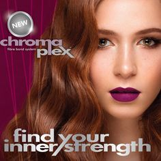 Chromaplex helps you find your hair's inner strength. Experience the luxurious results of the Chromaplex fibre-bond technology that repairs the hair shaft on a chemical level! Just ask for Chromaplex at your salon. Inner Strength, Hair Transformation, Your Hair, Salons, Bond, Finding Yourself, Technology, Tech, Lounges