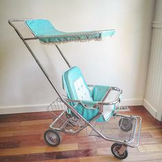 Vintage Baby Bouncer Chair