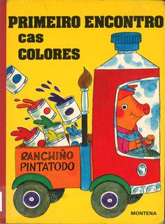 Richard Scarry's Color Book (Jellybean Books(R)) by Richard Scarry. This one was a favorite of mine when I was a little boy. Richard Scarry, I Love Books, My Books, This Book, Toddler Books, Childrens Books, Cas, Teaching Colors, Libros