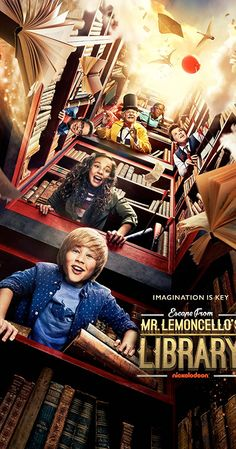 Escape from Mr. Lemoncello's Library En Streaming Film Movie, Cinema Movies, Netflix Movies, Disney Movies, Movies Online, Night Film, Streaming Vf, Streaming Movies, Serie Disney