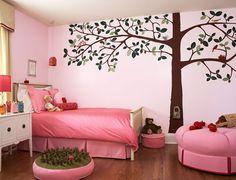 strawberry bedroom