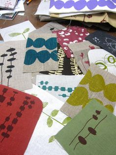 lotta jansdotter's popular fabric remnant bags