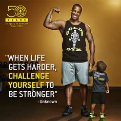 Dominique participated in the Challenge for his future… his son. #GoldsGymChallenge http://www.goldsgym.com/challenge/