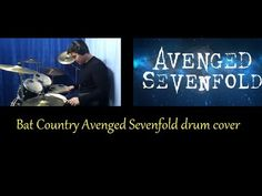 Avenged Sevenfold Bat Country - drum cover by Bill Kritkopoulos