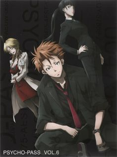 Karanomori Shion, Kunizuka Yayoi, Kagari Shusei, PSYCHO-PASS ~~ I miss the old team