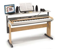 Desk/piano combo storage. Pull-out Stands for Digital Pianos | Digital Pianos - Synths & Keyboards | Piano World Piano & Digital Piano Forums