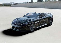 aston martin collaborates with valentino on a distinct V12 vanquish volante