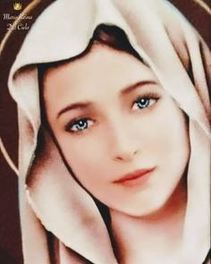 Blessed Mother Mary, Divine Mother, Blessed Virgin Mary, Mother Mary Pictures, Jesus Pictures, La Salette, Jesus Photo, Images Of Mary, Mama Mary Images