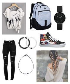 """""""casual"""" by bellamaria04 on Polyvore featuring adidas, Lokai, Vans, Yves Saint Laurent and Newgate"""