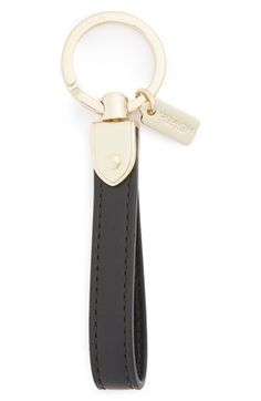 Free shipping and returns on COACH Loop Bag Charm at Nordstrom.com. Add a refined touch to your favorite handbag with a smooth leather loop elevated by subtle logo etching.