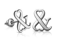 HEART & HEART in silver.