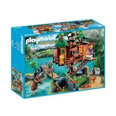 5557 Cabane des aventuriers dans les arbres Playmobil pour enfant de 4 ans à 10 ans prix promo Coffrets Oxybul éveil et Jeux 74.99 €