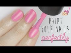 Today's nail video will show you tips and tricks on how to paint your nails perfectly! Have you ever dreamed of the perfect polished manicure? Well, today I am going to show you how to do just that! A perfect DIY nail manicure at home :)  Let me know if you enjoyed this video! Also, do you have any nail art design requests? Let me know them in the comments!  Let's chat!  Send me a TWEET: http://www.twitter.com/cutepolish (@cutepolish)  Show me your NAILS and SELFIES…