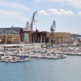 Neue Marina in Trogir