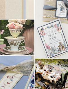 Inspirations – Whimsical Alice in Wonderland Wedding Invitations
