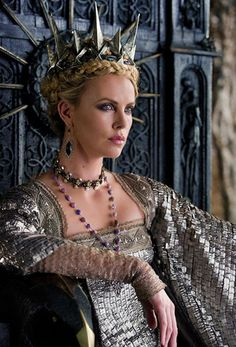 Evil Queen Charlize Theron in Snow White and the Huntsman