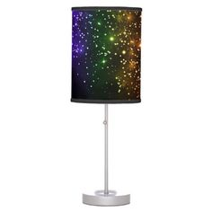 Illuminate your home with Rainbow lamps from Zazzle. Choose from our pendant, tripod, or table lamps. Find the right lamp for you today! Decorative Lamps, Linen Lamp Shades, Incandescent Light Bulb, Rice Paper, Twilight, Colorful Backgrounds, Original Artwork, Table Lamp, Rainbow