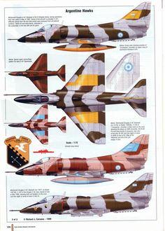 Hacé clic en la imagen para verla a tamaño completo. Aviation Theme, Aviation Art, Military Jets, Military Aircraft, Plane Drawing, Douglas Aircraft, Old Planes, Falklands War, Airplane Fighter