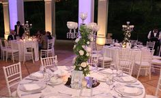 Candelabros de Cristales, Bling Wedding, Hotel Real Intercontinental