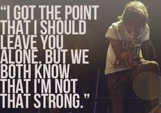 miserable at best. mayday parade <3