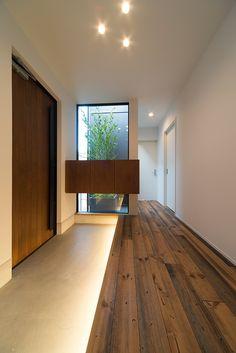 Villas, Japanese Interior, Gray Interior, House Entrance, Japanese House, Architect Design, Minimalist Home, House Rooms, Interior Inspiration
