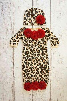Cheetah print outfit!