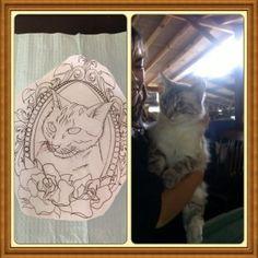 Rocky Tattoo, Tattoos, Cats, Animals, Gatos, Animaux, Tattoo, Animales, Cat