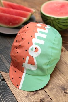 Image of Tomii Watermelon Cycling Cap  Pre-order available!