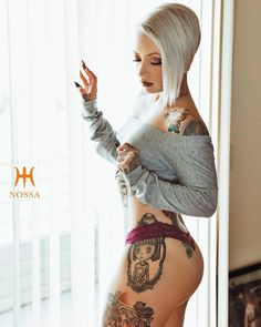"""#H2Ocean Model @officialvanyvicious Photographer @nossa.camera --------------- #h2ocean #premiumtattooaftercare #premiumpiercingaftercare…"""