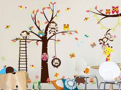 Babykamer Behang Stickers : Beste afbeeldingen van kinderkamer muurstickers in home