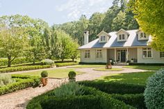12 homes to rent for a winter weekend getaway: Bowral, NSW An architect designed, five bedroom home on an acre of lush gardens. Us Holidays, Highland Homes, Vogue Living, Holiday Accommodation, House Goals, Architect Design, Cottage Homes, Weekend Getaways, Renting A House