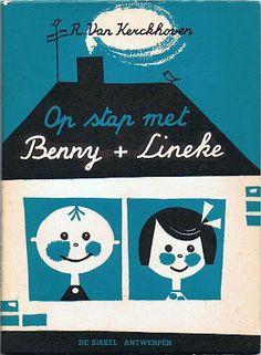 R. Van Kerckhoven: Op stap met Benny + Lineke (Cover and illustration: Fred Garrels)