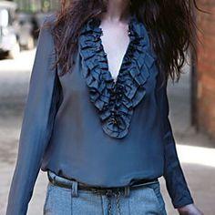patron gratuit blouse