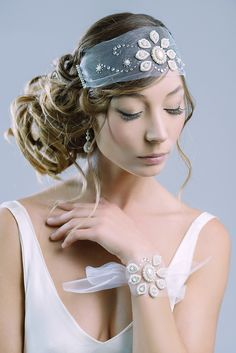 Nocturne - 'Music Room' collection of Bridalwear from Petite Lumière