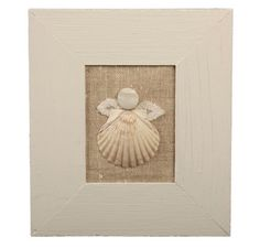 Cape Cod Angel. Local Cape Cod scallop shell and all recycled materials. Perfect accent to any home. Great gift idea!