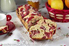 Plum cake alle fragole senza zucchero - In cucina con Zia Ralù
