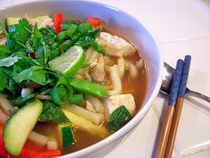 Dinner Peace: Noodle Soup