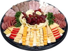 Meats and Cheese Party Platters Meat Cheese Platters, Deli Platters, Catering Platters, Deli Tray, Meat Trays, Meat Platter, Food Platters, Cheese Plates, Antipasto Platter